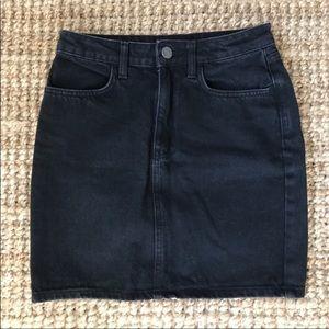 BDG Black Denim Mini Skirt from UO